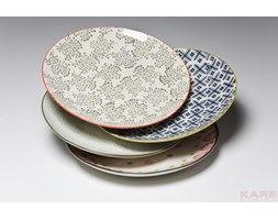 Kare Design Grandmas Flowers Talerz 25cm Różne Wzory - 35970