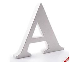 Litera dekoracyjna duża - A - biała