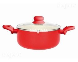 Garnek z powłoką ceramiczną Fusion Fresh 24cm soczysta czerwień