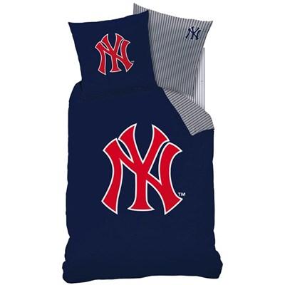 Komplet pościeli: poszwa na kołdrę + poszewka na poduszkę, New-York Yankees