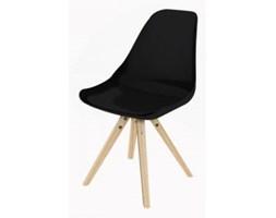 Nowoczesne krzesło - Tvilum - Stars Mix Design czarne