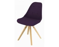 Nowoczesne krzesło tapicerowane - Tvilum - Stars Mix Design fioletowe