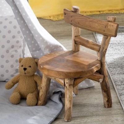Dekoria Krzesełko okrągłe 36x34x45 cm, 36x34x45cm
