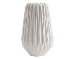 Biały wazon origami, mały