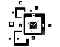 Zegar ścienny TRIO QUADRAT