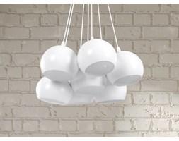 Lampa sufitowa wiszaca - zyrandol bialy - oswietlenie - OLZA