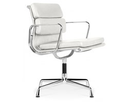 EA208 soft pad office chair white