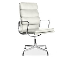 EA215 soft pad office chair white