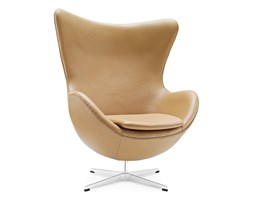 The Egg chair brown
