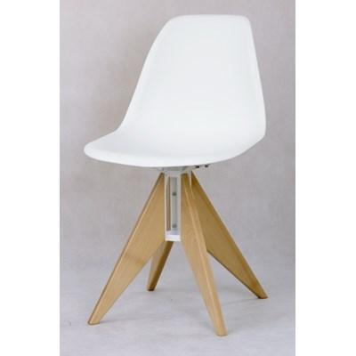 Krzesła białe ROCKET SLIM RS112B