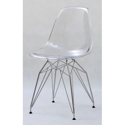 Krzesła przezroczyste VISION SLIM VS112T