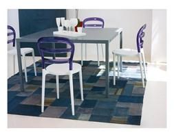 Krzesło Miss Bibi kolor biały i fiolet