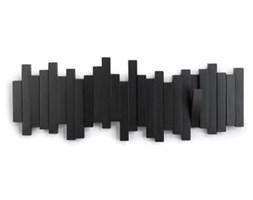 Ciekawy wieszak Sticks Multi czarny
