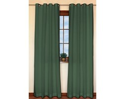 Dekoria Zasłona na kółkach 1 szt., Forest Green (zielony), 1szt 130x310 cm, Cotton Panama