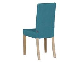Dekoria Sukienka na krzesło Harry krótka, turkus, krzesło Harry, Etna