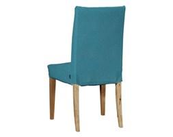 Dekoria Sukienka na krzesło Henriksdal krótka, turkus, krzesło Henriksdal, Etna