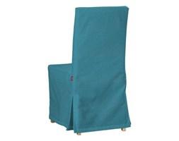 Dekoria Sukienka na krzesło Henriksdal długa, turkus, krzesło Henriksdal, Etna