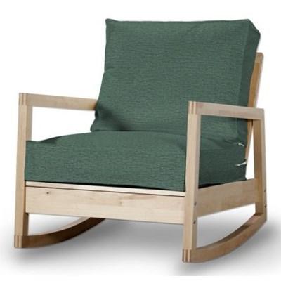 Dekoria Pokrowiec na fotel Lillberg, szmaragdowo-zielony melanż, Fotel Lillberg, Living