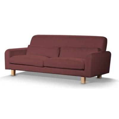 Dekoria Pokrowiec na sofę Nikkala krótki, rudo-brązowy sztruks, sofa nikkala, Manchester