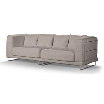 Dekoria Pokrowiec na sofę  Tylösand 3-osobową nierozkładaną, beżowo-szary, sofa tylösand 3-osobowa nierozkładana, Etna