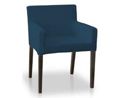 Dekoria Sukienka na krzesło Nils, Ocean Blue (morski niebieski), krzesło Nils, Cotton Panama
