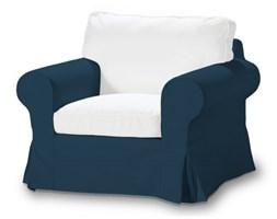 Dekoria Pokrowiec sukienka na fotel Ektorp, Ocean Blue (morski niebieski), fotel Ektorp, Cotton Panama