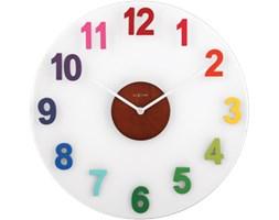 Zegar ścienny Woody - Diverse - NEXTIME