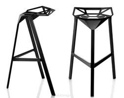 Hoker, Krzesło Barowe Insp. One black