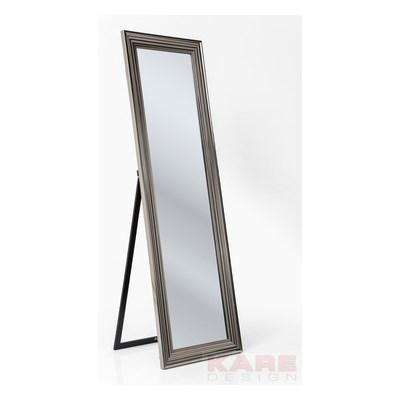 Kare Design Frame Silver Lustro Stojące Srebrne 180 cm x 55 cm - 79744