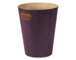 Umbra Umbra Woodrow Fioletowy Drewniany Kosz Na Śmieci 9 Litrów - 082780-723