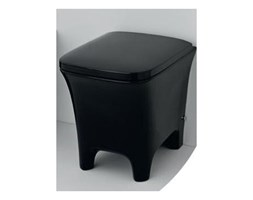Artceram Cow Miska WC stojąca o wymiarach: 38x52, w kolorze czarnym CWV002 - kolor czarny