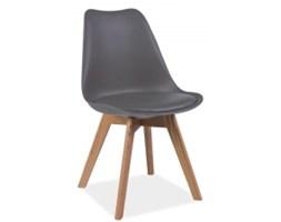 Krzesło inspirowane dąb bielony/ szary