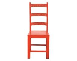 Kare design :: Krzesło Taberna Pomarańczowe (komplet 2szt)
