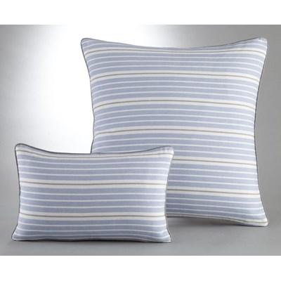Poszewka na poduszkę lub jasiek w paski, 100% bawełny tkanej po ufarbowaniu, Pégalie