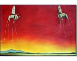 Słonie - Salvador Dali