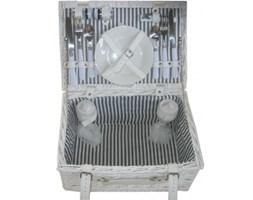 Koszyk piknikowy Holiday 2os 40x28x19, biały