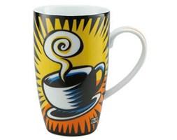 Kubek porcelanowy Przerwa na kawę Burton Morris,żółty,Goebel