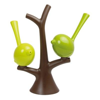 Solniczka i pieprzniczka na drzewku zielono brązowe Pi:p KZ-3108578