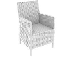 Fotel ogrodowy CALIFORNIA - biały