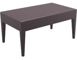 Stół ogrodowy MIAMI - Brązowy