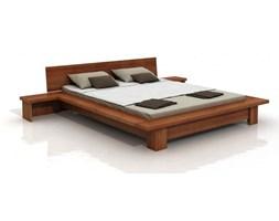 Łóżko z szafkami nocnymi sosnowe Visby Bergen