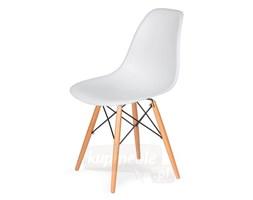 Krzesło do nowoczesnych jadalni na drewnianych nogach DSW
