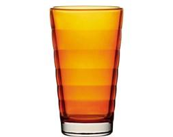 Szklanka do napojów LEONARDO WAVE POMARAŃCZOWA 300 ml -- pomarańczowy - rabat 10 zł na pierwsze zakupy!