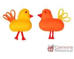 2 Zawieszki kurczaki Lilyshop, pomarańczowe