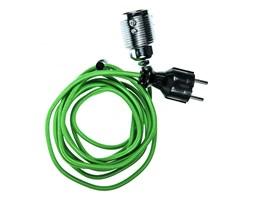 PLUG oprawa z wtyczką (kinkiet) 1 x 60W E27 ( zielony przewód)