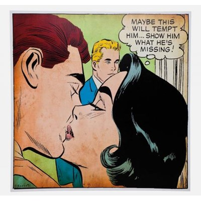 Obraz Marvels Kiss Kare Design 35744