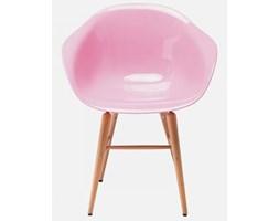 Krzesło Forum Wood II jasnoróżowe Kare Design 78665