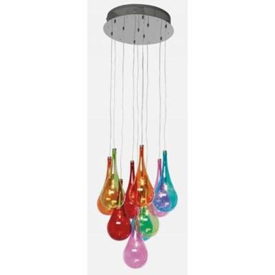 Lampa Wisząca Falling Drops Kare Design 33035