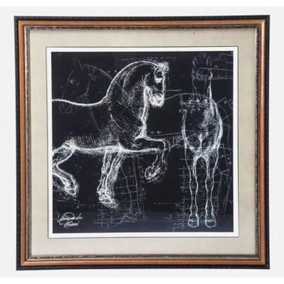 Obraz Horse Studies Różne Rodzaje Kare Design 36723