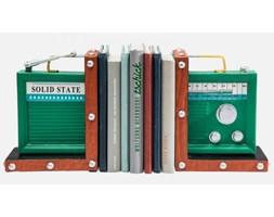 Podpórka na Książki Radio (2/Set) Kare Design 37217